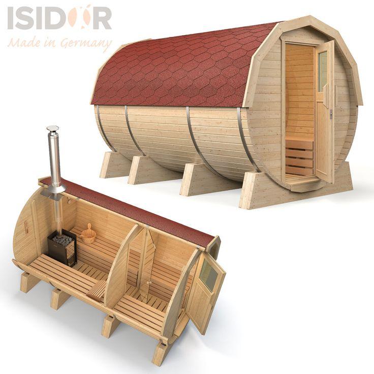 Hierzu wenden. Das neue ISIDOR-Fasssauna-Programm ist da! Isidor Holzbau bietet seinen Kunden auf Wunsch auch eine Produktionsbesichtigung und die. Sie haben nirgends anders die Möglichkeit sich für Ihren geliebten Saunagang zu entkleiden, die Hecke zum Nachbarn ist zu niedrig oder Sie möchten im kalten Winter einfach nicht nur mit dem Handtuch bedeckt übers Grundstück eilen?. | eBay!