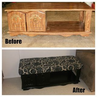 Real Livin With HSB: Coffee Table Makeover