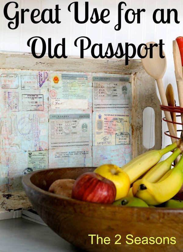 Passport Art on the Cheap Travel memories, Craft and Crafty - copy recommendation letter format for tatkal passport