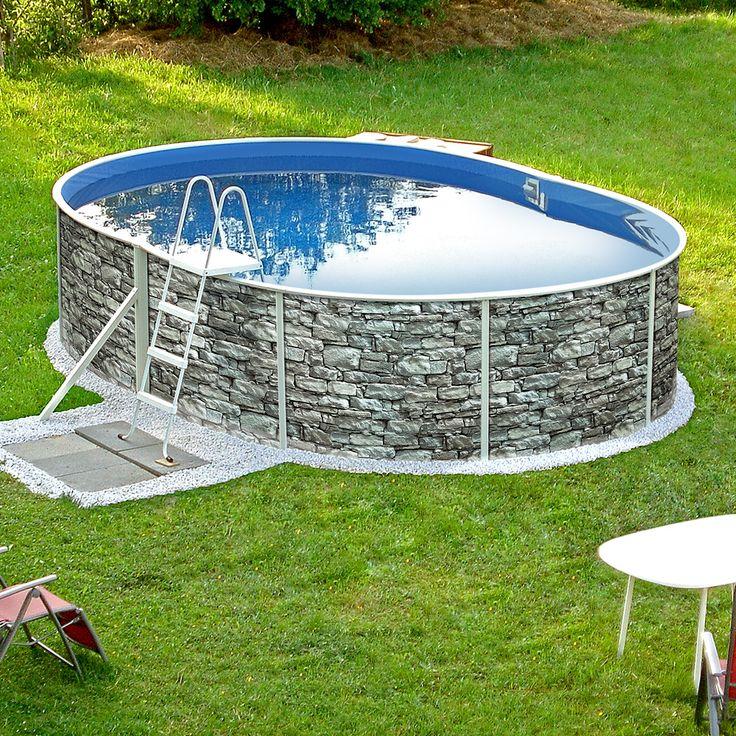 78 besten gartenpools von poolsana bilder auf pinterest for Ovaler pool garten