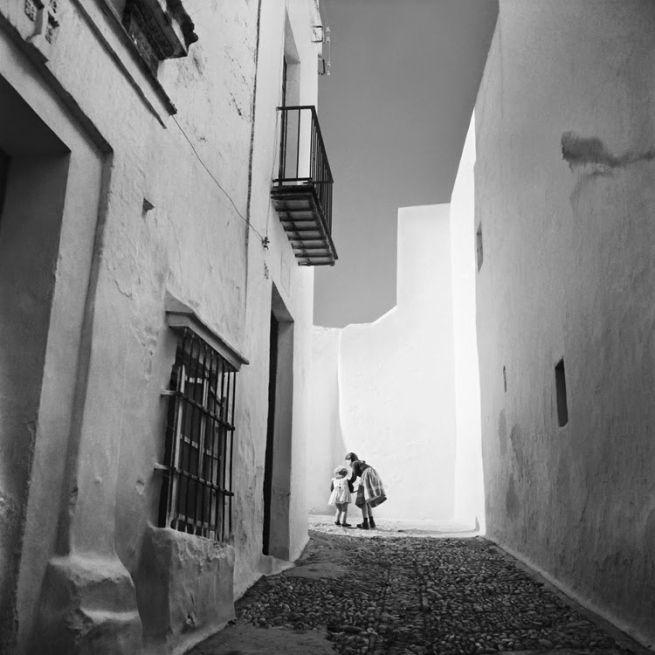 Nicolás Muller. 'Arcos de la Frontera (Cádiz)' 1957