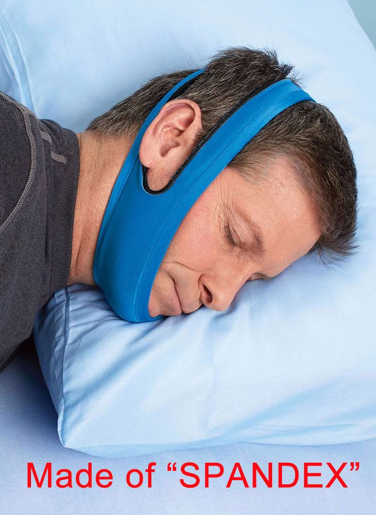 Top Kualitas Anti Perawatan Tidur Mendengkur Mendengkur Chin Strap Belt Untuk Pria Wanita Produk Tidur