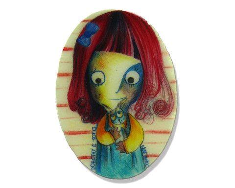 """Spilla """"Dorothy"""" ideata da NOTTURNO C— La Casa di Ninni"""