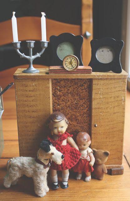 Lasituvan Miniatyyrit - Lasitupa Miniatures: Antique finds for my dollshouse…