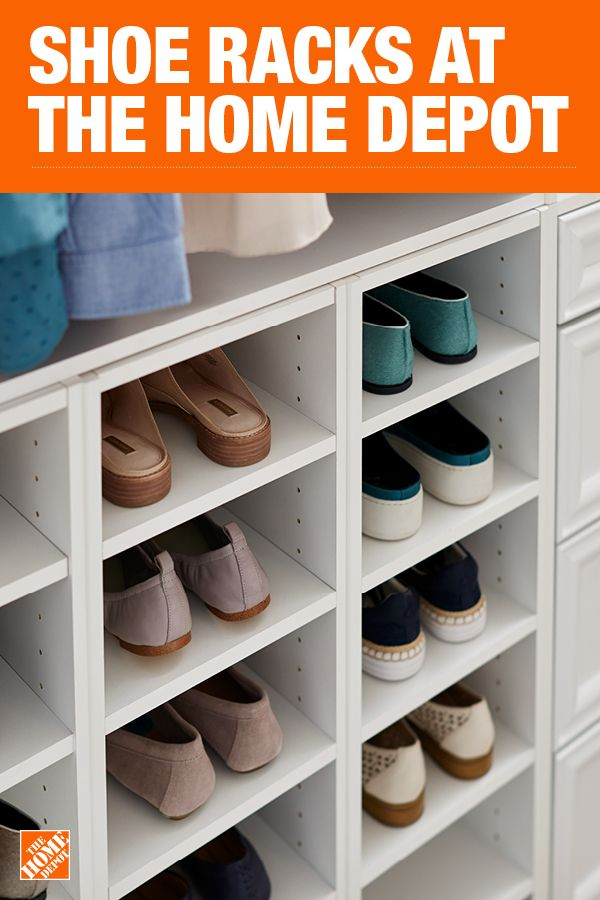 The Home Depot Has Everything You Need For Your Home Improvement Projects Click Through To Learn More About Closet Designs Shoe Rack Home Depot Closet Design