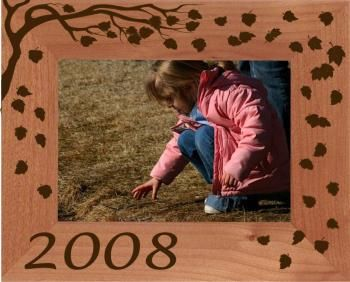 Fall Leaves Photo Frame - Personalized!