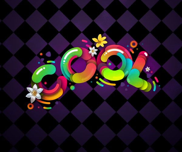 """Create """"Cool"""" Typography Using Paths in Photoshop - Tuts+ Design & Illustration Tutorial"""