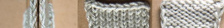 Various methods of making a nice selvege edge