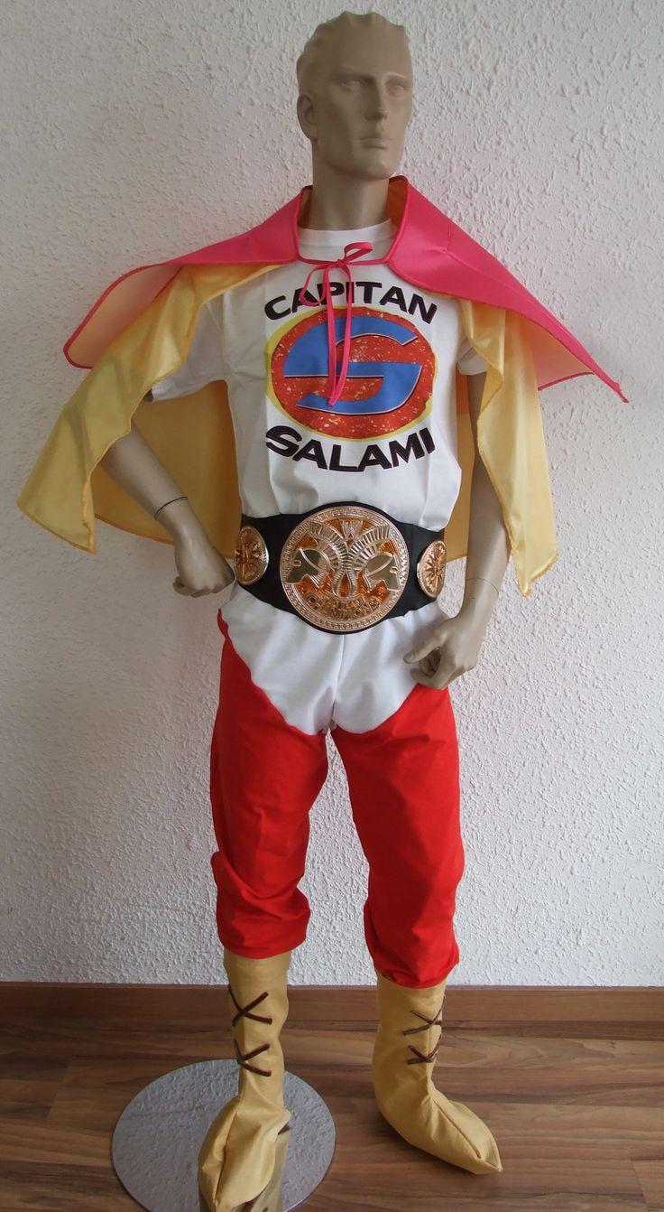 Disfraz Capitán Salami. La que se avecina