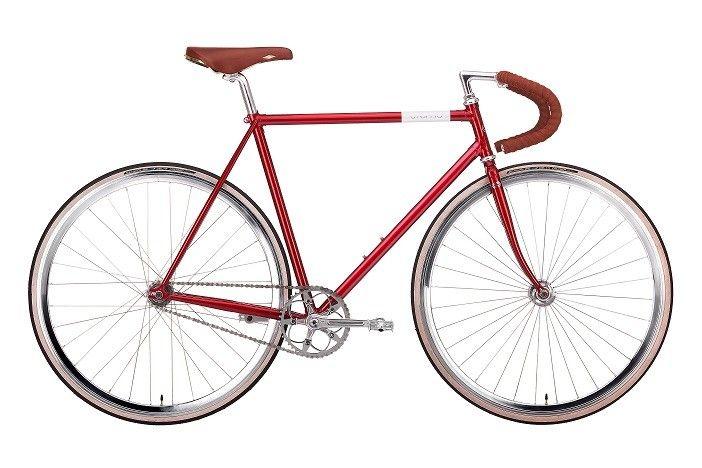 Vinyl Doppio Dark red Creme Cycles