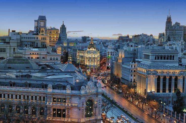 """""""Madrid"""" by Jesus Martin Mirelis, via 500px."""