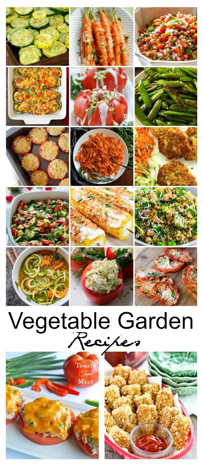 Recipe Ideas| Vegetable-Garden-Recipes-Dinner Ideas-Side Dish Recipes