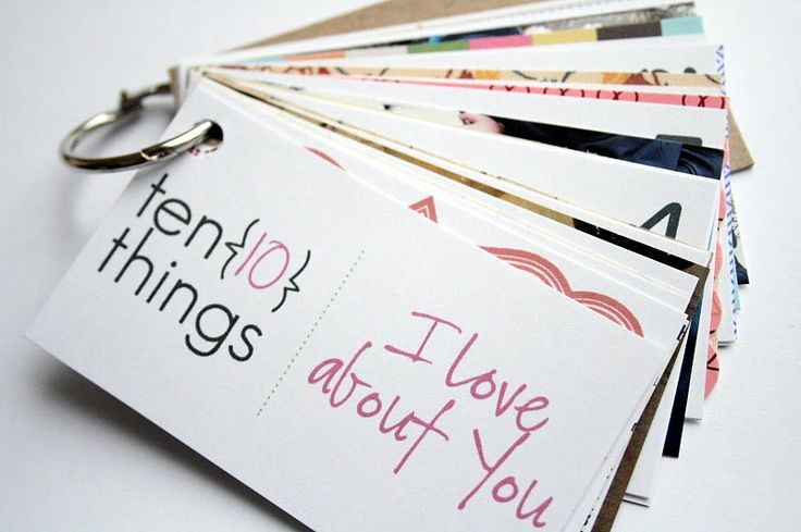 ten things i love about you {how-to}