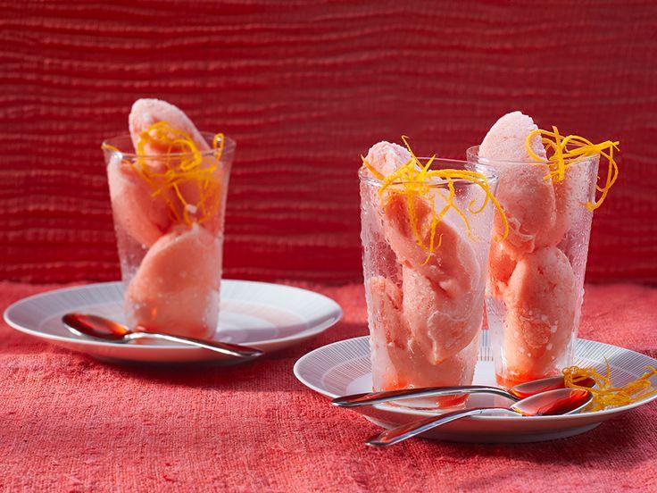 Orangen - Campari - Sorbet