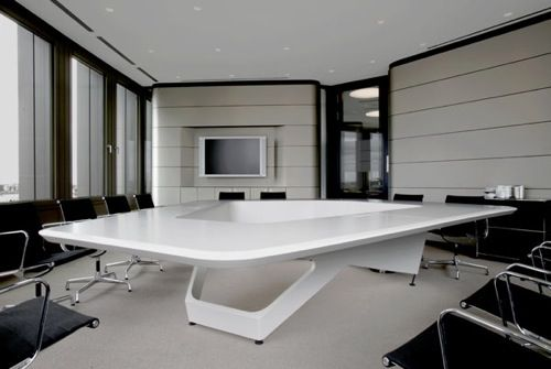 Ernst & Young Board of Directors Meeting Table by Kinzo