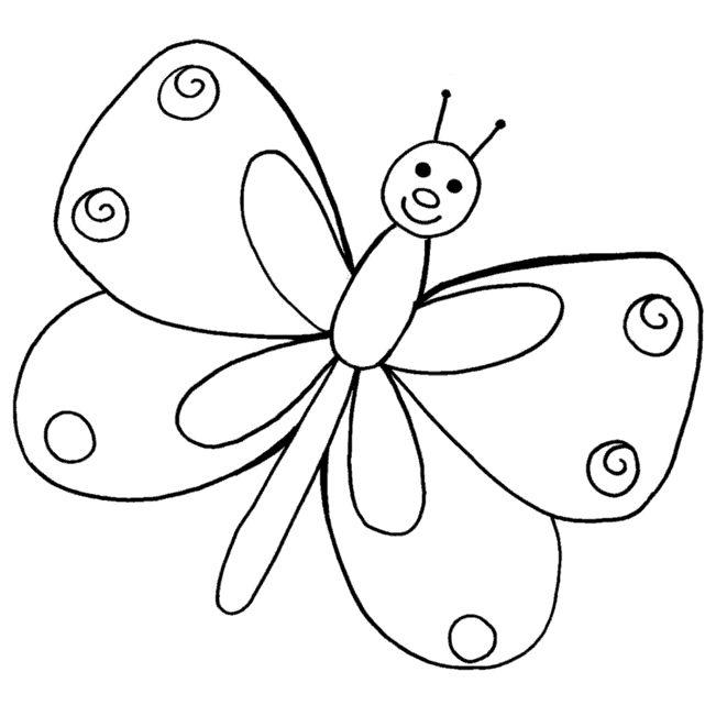 Mi colección de dibujos: Mariposas para colorear