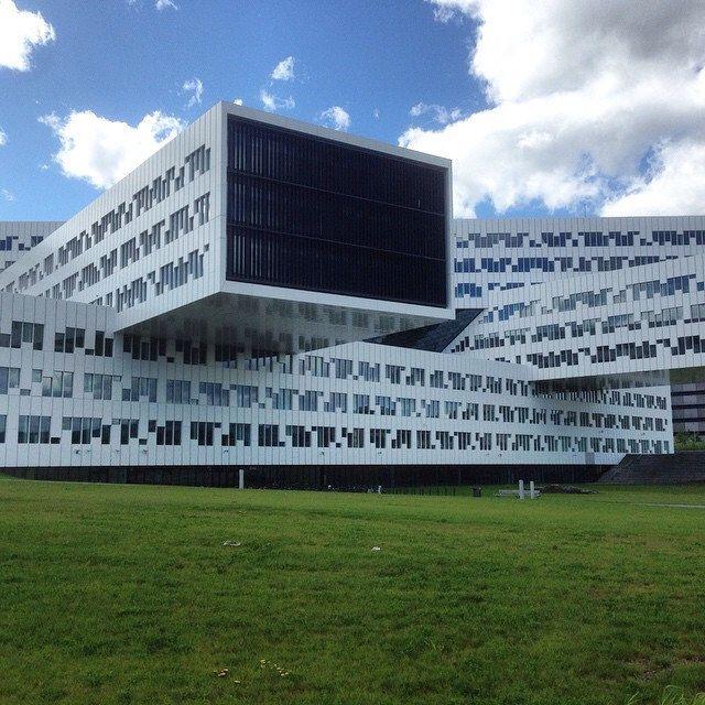 Statoils hovedkvarter - Fornebu #statoil #moderne #arkitektur #fornebu #legoklosser #kontorer #norway #architecture