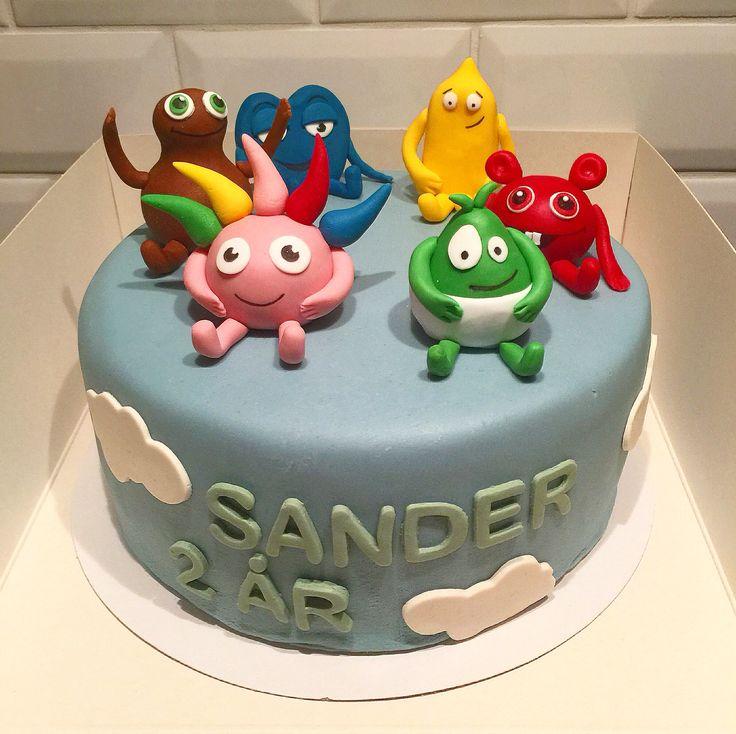 Birthday cake Babblarna