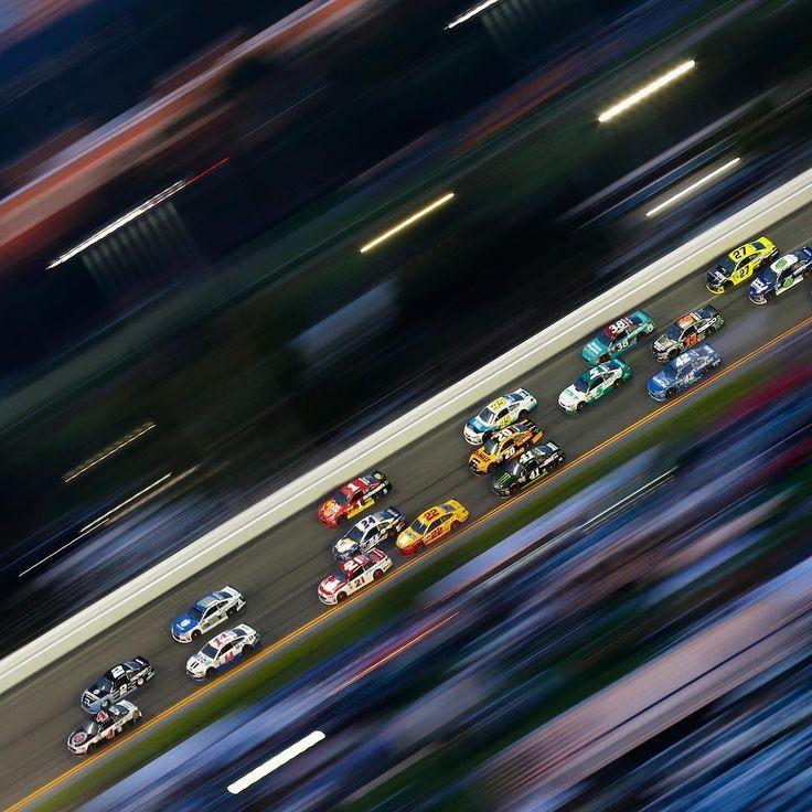 "NASCAR on Instagram: ""Saturday night under the lights. #NASCAR #CokeZero400"""