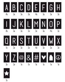Tekstbord   Textboard   29x21,5 cm   88 cards   Order at www.vanmariel.nl   € 27,95