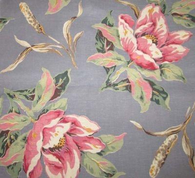 Barkcloth: Vintage Barkcloth, Vintage Fabric, Barkcloth Fascination, Vintage Linens Pattern Fabric, Tropical Prints, Barkcloth 30S, Patterns Flowers, Barkcloth Beauty