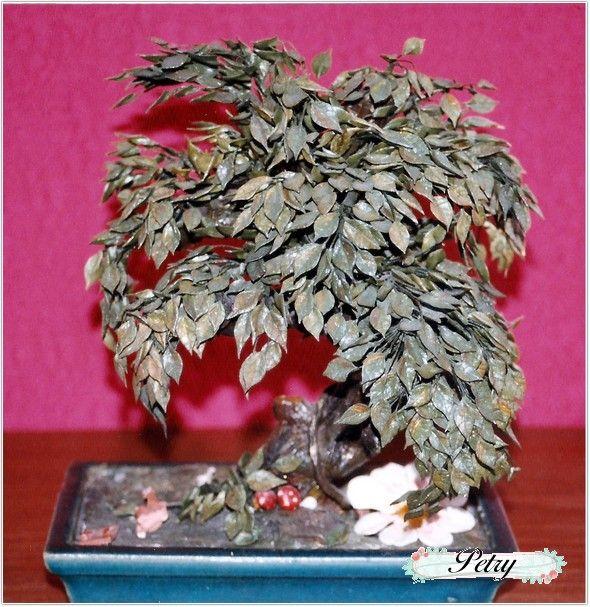 Bonsai de maicena. www.petry.es