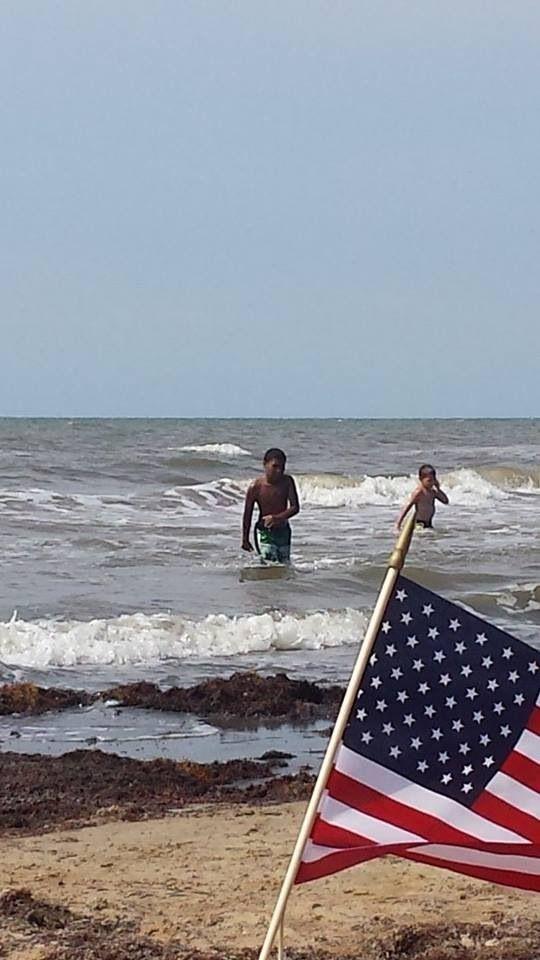 galveston beach 4th july