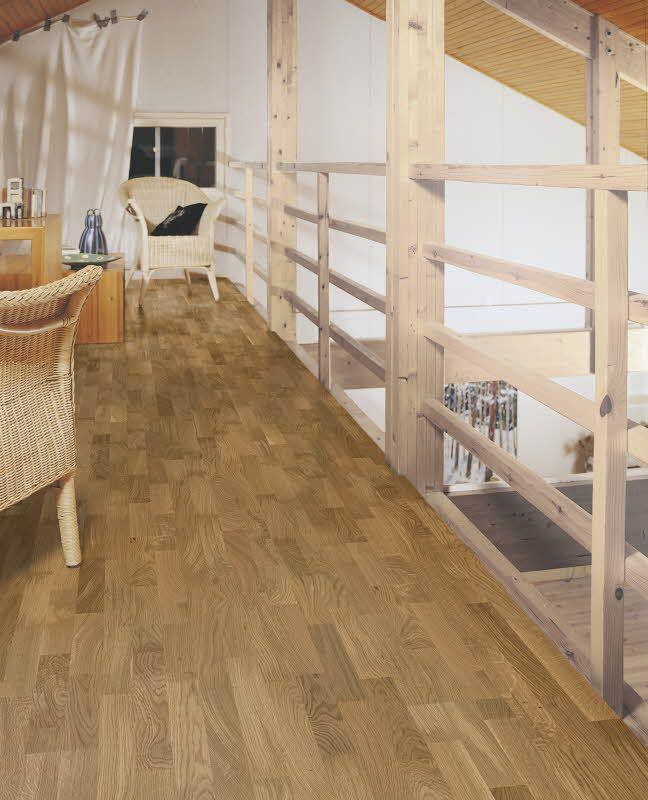 Polarwood parketti Oak Shade 3-s. Paksuus 14mm, soveltuu lattialämmityksen kanssa. Värisilmä, www.varisilma.fi