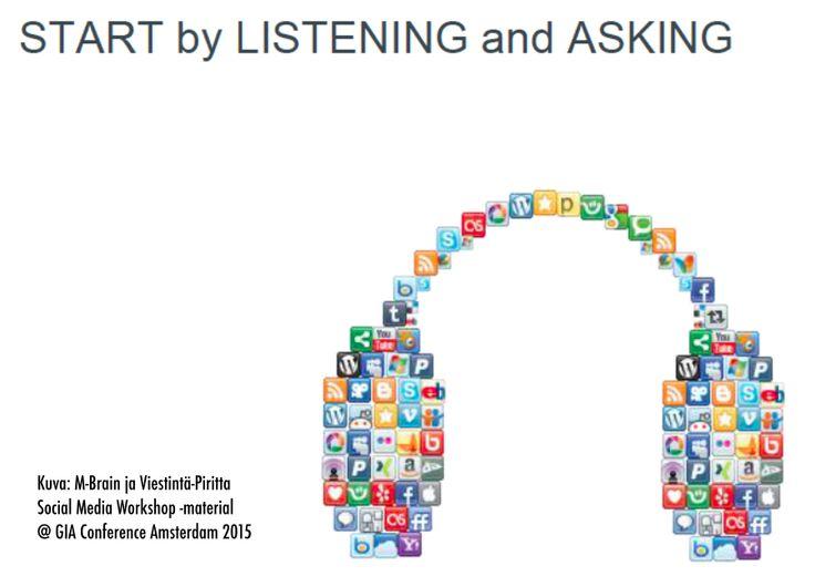 Miksi kuuntelu kannattaa somessa?   Viestintä-Piritta