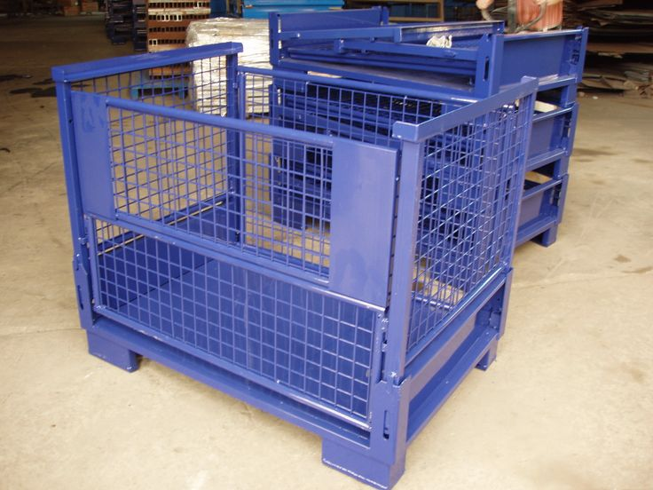 Metal breakdown pallets by TFG USA! For more info on our fabricating services, please visit: http://www.tfgusa.com/products_metal_fab.php