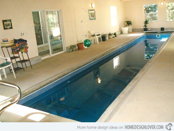 15 Fascinating Lap Pool Designs