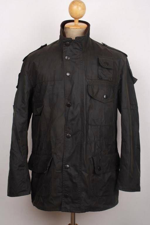 Black wax jacket ebay