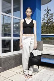 14'SS lookbook #fashion #fibula #fibulafashion #fibuladesign #womanswear #womansfashion #fischervilla #moholynagylaszlo #asymmetric #layers #springsummer #burmese #longyi