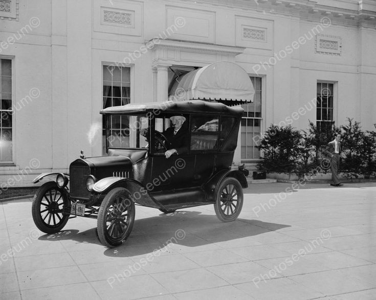 Ford Model T Automobile Car 1921 Vintage 8x10 Reprint Of Old Photo