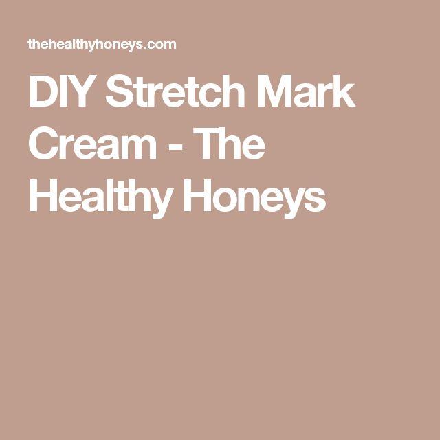 DIY Stretch Mark Cream - The Healthy Honeys