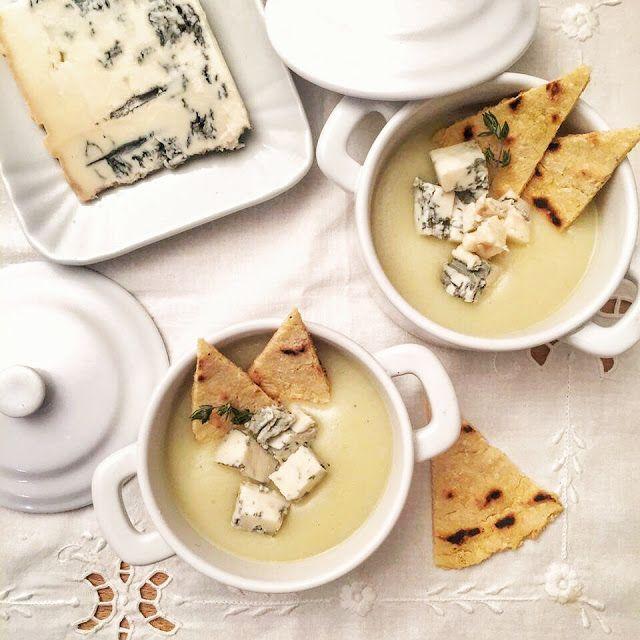 La luna sul cucchiaio: Crema di sedano rapa al Gorgonzola DOP