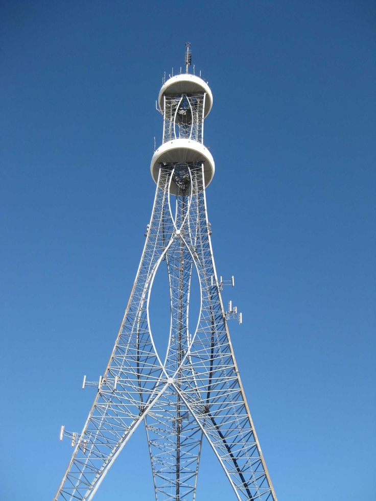 Mesquite Tower, Mesquite, Texas,USA - I remember watching this being built when I was a kid. At the time I could SWEAR that NASA was building a space ship and one day I would get to see it launch. It still sits on it's launchpad to this day....