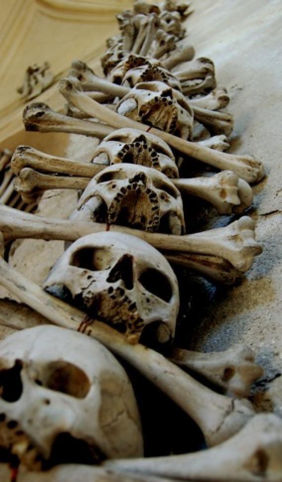 "B♠nes ☠ - Sedlec Ossuary .. Czech Republic .. ""The Bone Church"""