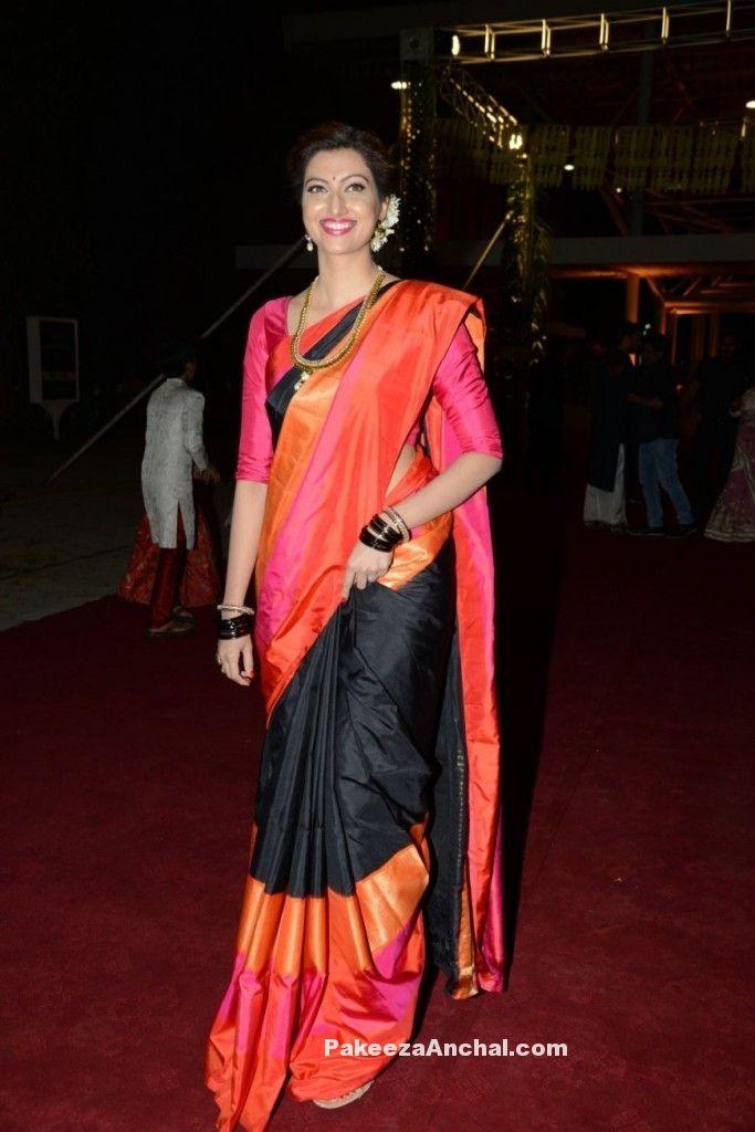 Hamsa Nandini at PVP daughter's Half Saree function-PakeezaAnchal.com