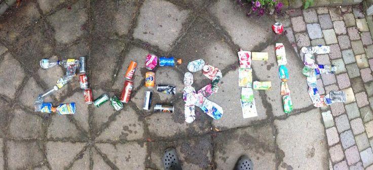 Even de drankverpakkingen apart gehouden bij rondje #zwerfie  #purmerend. Ik zeg: #statiegeld erop! @statiegeldactie pic.twitter.com/zMBUJYpD49