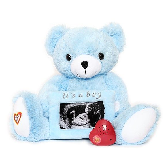 Capture the sound of your baby's Heartbeat and display your favorite Ultrasound photo!