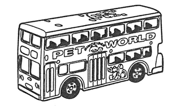 トミカベーシックスタンプ「ロンドンバス」