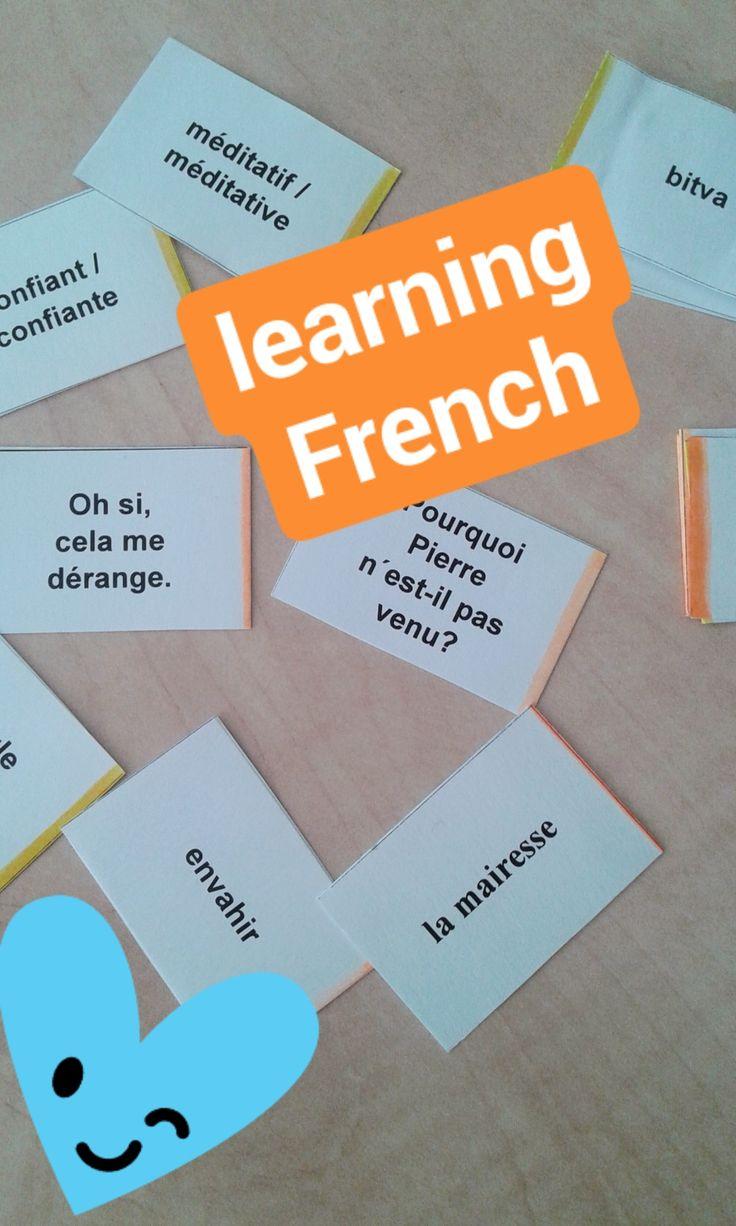 This is how I refresh my French vocabulary. via Instagram stories of @quaintrelle.georgiana  https://www.instagram.com/quaintrelle.georgiana/ | Georgiana Quaint
