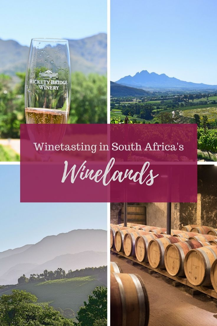 If you're going to Cape Town you absolutely can't miss a visit to Stellenbosch to go wine tasting!