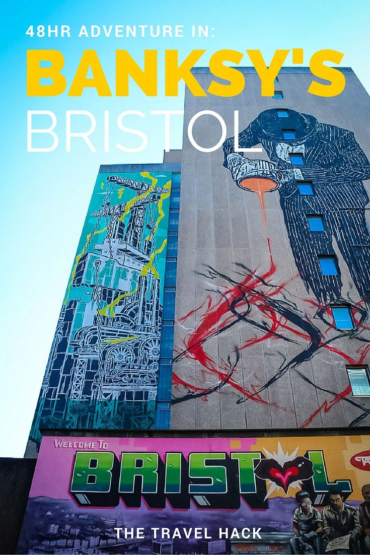 48 hours in Banksy's Bristol