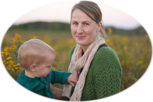 Small Things - A sweet blog about a mommy and her seven children.  If you are into knitting, she posts a lot about that.