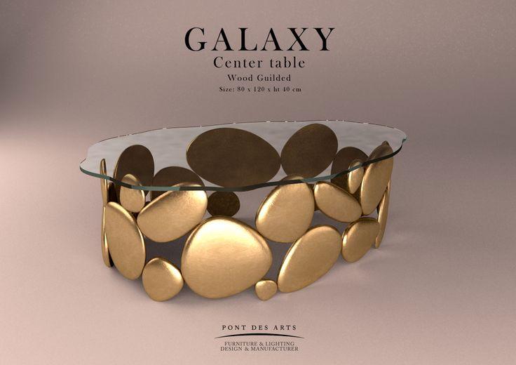 Wood gilded & Glass - Pont des Arts _ Monzer Hammoud Designer - Paris -