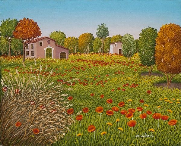 Grass of my garden  by Cesare Marchesini of Italy