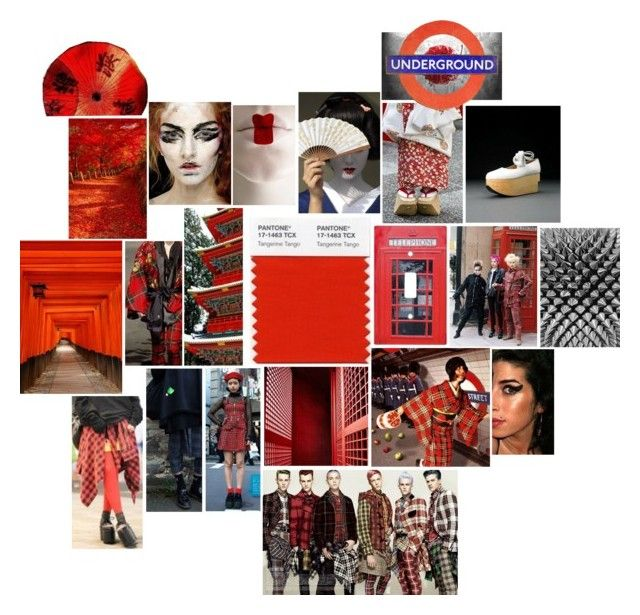 """""""Red Brainstorming"""" by melaccamarina on Polyvore featuring arte"""