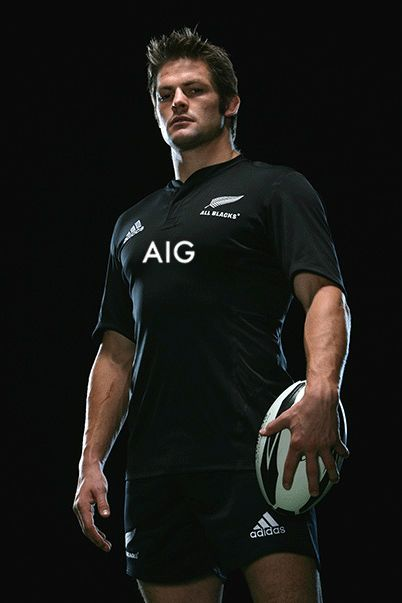 All Blacks rugby - Captain Richie McCaw